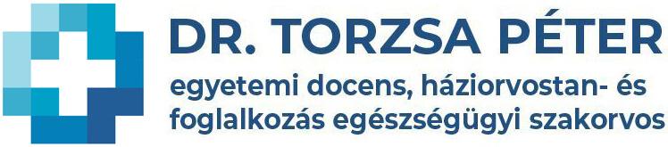 Dr. Torzsa Péter egyetemi docens, háziorvostan- és foglalkozás egészségügyi szakorvos