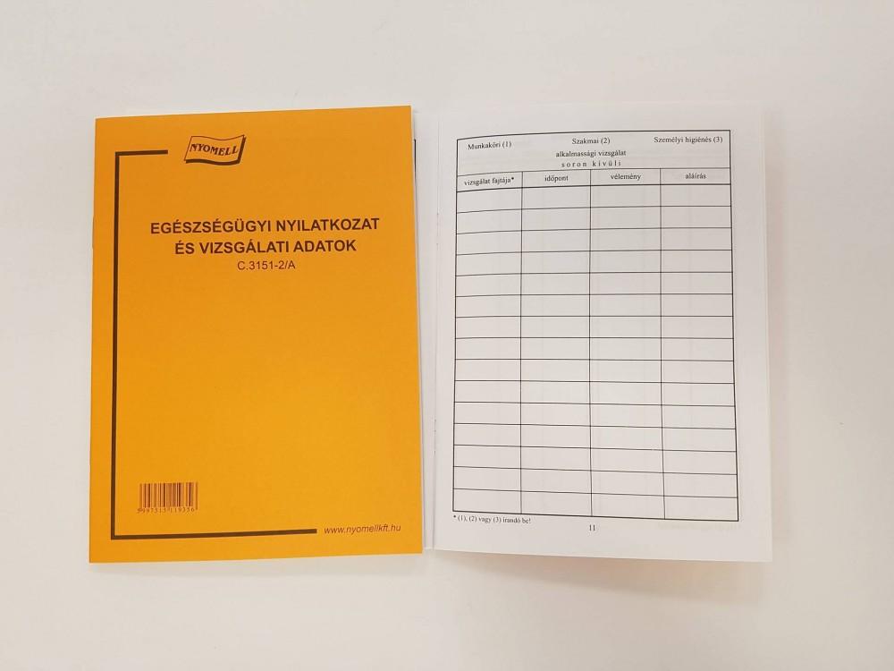 Egészségügyi kiskönyv
